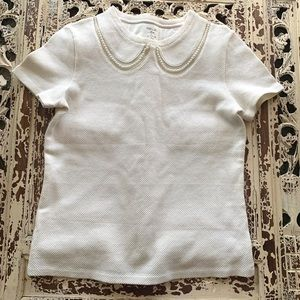 Marc Cain Pearl Neck Tee